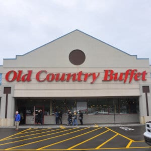 An Old Country Buffet location.