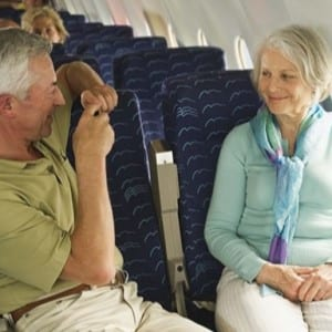 Senior flight discounts