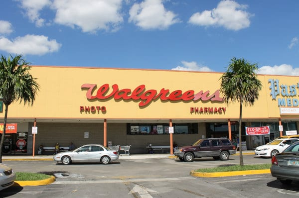 A view of a Walgreens locations in Miami.