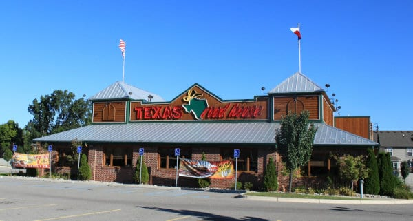 A Texas Roadhouse location in Michigan.