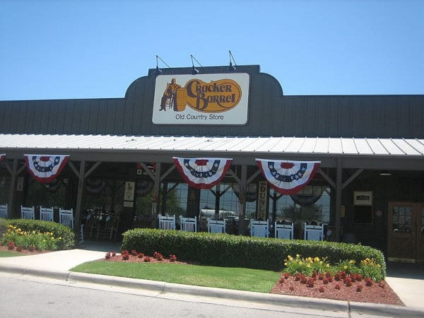 A Cracker Barrel location in Texas.