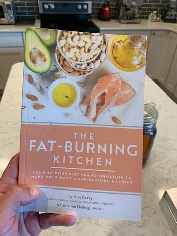 """The Fat-Burning Kitchen"" book."