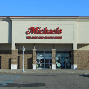 A Michaels location in Michigan.