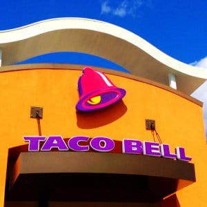 A Taco Bell location.