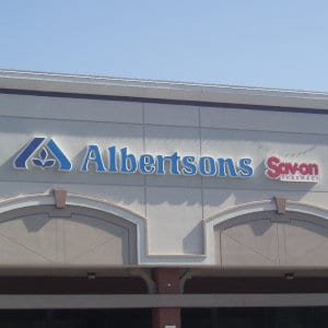 An Albertsons location.