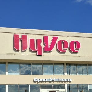 A Hy-Vee location.