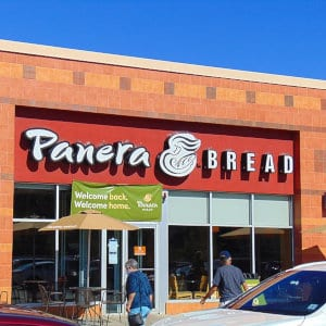 A Panera Bread location.
