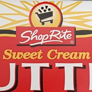 A package of ShopRite Sweet Cream Butter.