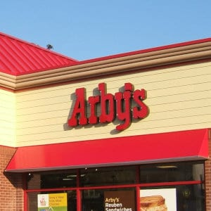 An Arby's location.