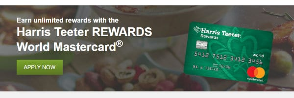 A screenshot from the HT Credit Card webpage.