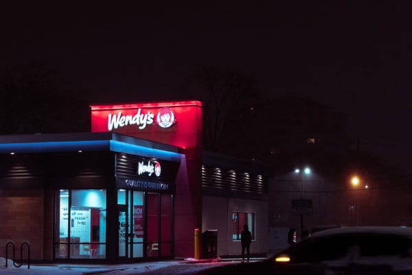 A Wendy's location.