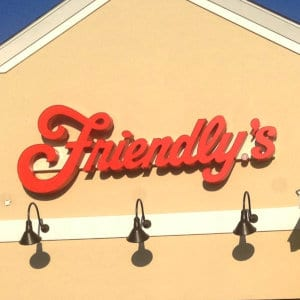 A Friendly's location.