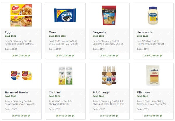 Publix offers dozens of digital coupons to choose from.