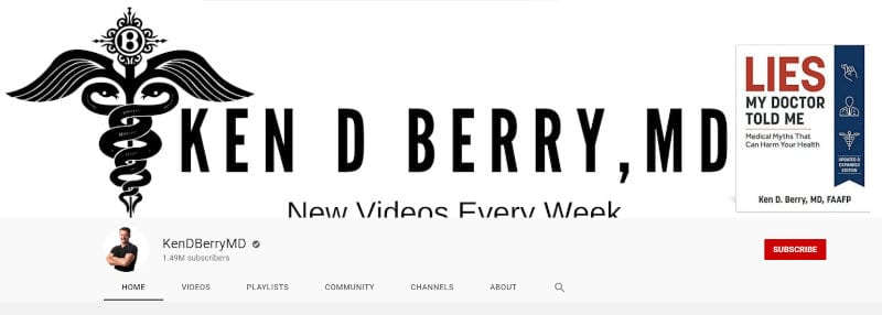 Berry's YouTube channel.